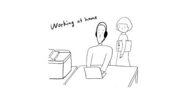 在宅勤務の苦労