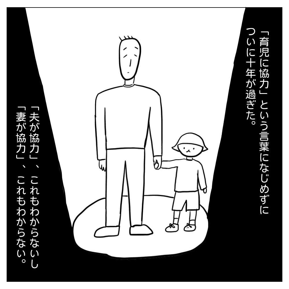 育児に協力という言葉の意味がわからずにここまできた。